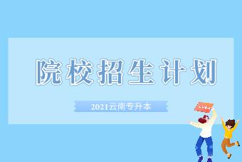 2021年云南专升本各院校招生计划汇总!